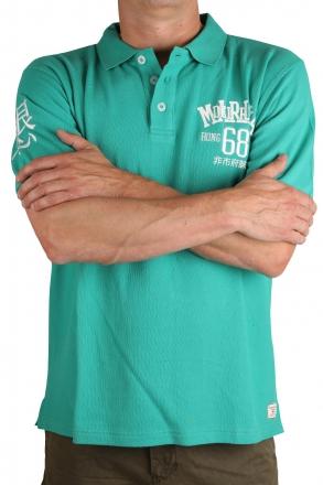 Marina Del Rey Herren Polo T-Shirt Peter 90 046 lightgrün