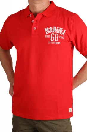 Marina Del Rey Herren Polo T-Shirt Peter 85 241 rot