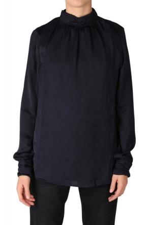 Garcia I70032-292 Damen Shirt langarm uni Dark Moon