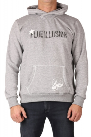 LTB 86068-203 Herren Kapuzen Sweatshirt Grey Mel