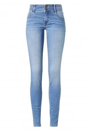 Paddocks Damen Slim Jeans LUCY mid blue 5922