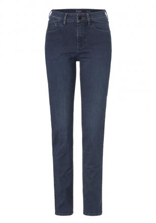 Paddocks Damen Slim Jeans PAT blue black soft used