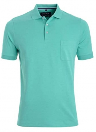 MARVELiS 6410-32-42 Funktions Polo T-Shirt kristall 50/M