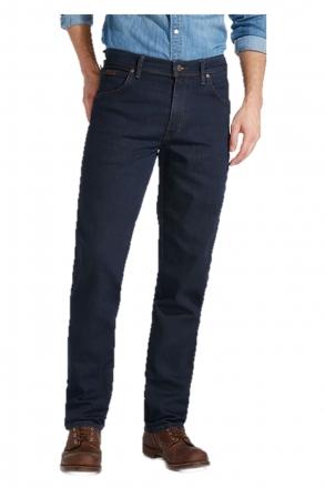 WRANGLER  Stretch-Jeans TEXAS W121-75-001 blue-black w50 | L34