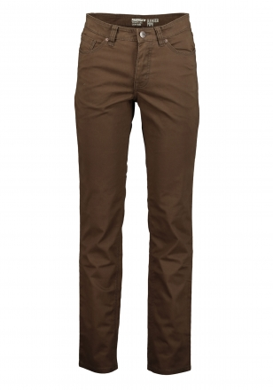 Paddocks Herren Stretch Jeans Ranger Pipe Satin brown W32 | L32