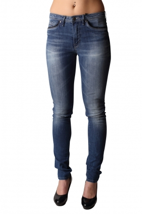 BLEND - She Bright 200479-29035 Stretch Slim-Jeans Med.Blue Denim W30 | L34