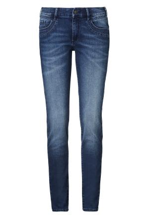 Paddocks Damen Slim Jeans LUCY blue dark stone W26 | L32