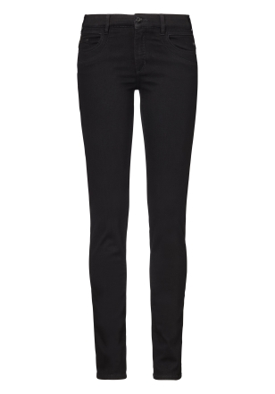 Paddocks Damen Slim Jeans LUCY black-black