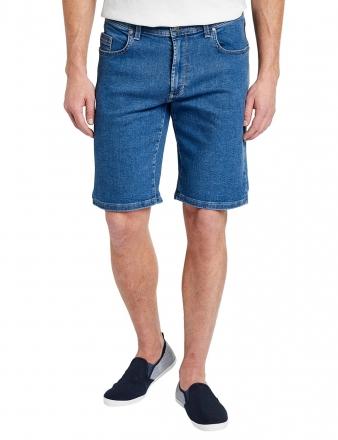 PIONEER Megaflex Jeans Denim Stretch-Bermuda 1351-9759-05 stone W32