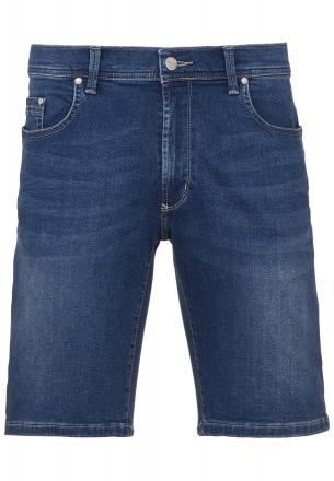 PIONEER Megaflex Jeans Denim Stretch-Bermuda 1351-9759-346 stone used W31