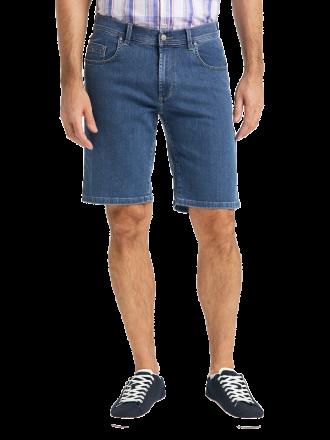 PIONEER Megaflex Jeans Denim Stretch-Bermuda 1303-9920-05 stone