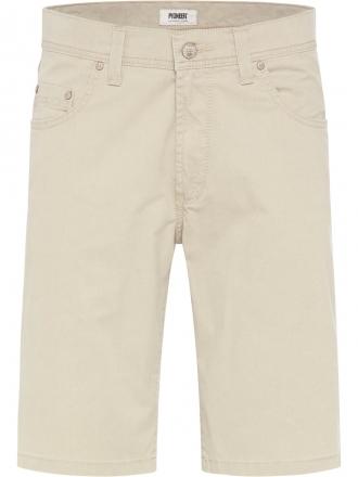 PIONEER Herren Stretch Bermuda 1303-3940-21 beige