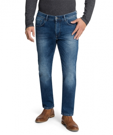 PIONEER Megaflex Jeans ERIC 16181-6510-6824 blue used with buffies