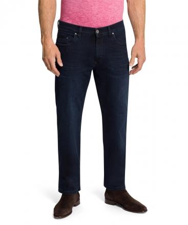 PIONEER Megaflex Jeans RANDO 16541-6711-6815 dark blue used with buffies