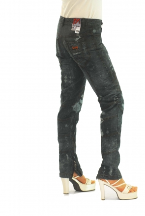 BUCK`s - LOHAS BJ67 Limited No.6 Öko Röhrenjeans 28/30 blue -Miss twy-