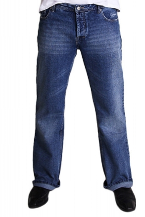 BUCK`s - Jeans BJ02 Bootcut blue-stone-crafted Tinmen w29 | L32