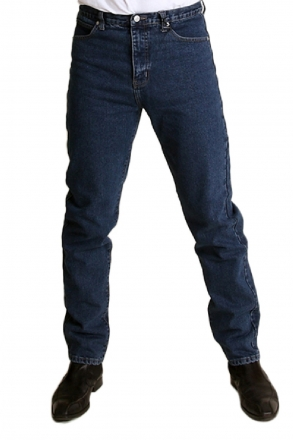 BUCK`s - BJ26 dark-blue Röhrenjeans London-Slim