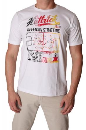 Gin Tonic Herren T-Shirt 78646-1000 weiß