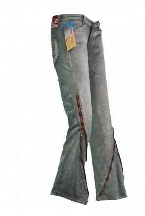 BUCK`s - LOHAS BJ134 Limited No.95 Öko Röhren/Schlag Jeans 30/31 blue -Miss twy-