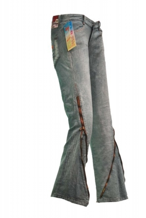 BUCK`s - LOHAS BJ134 Limited No.95 Öko Röhren/Schlag Jeans 30/31 blue -Miss twy- W30 | L31