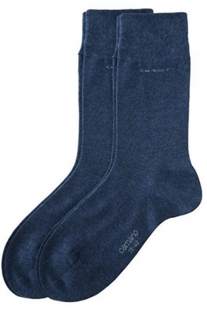 CAMANO Herren und Damen Socken 2 PACK Art-Nr. 3642 anthrazit | 39/42