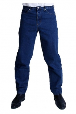 BUCK`s BJ25 Keilformjeans dark-blue Newton-Slim