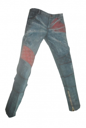 BUCK`s - LOHAS BJ152 Limited No.99 Öko Röhrenjeans 33/32 blue -Miss twy-
