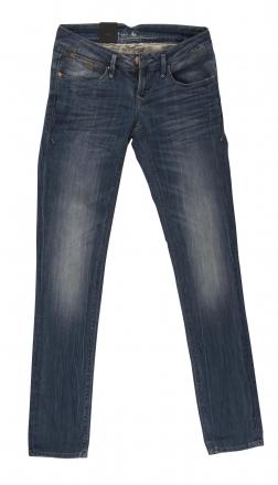 BLEND - She SKY 6167-695 Stretch Röhren-Jeans blue-used W25 | L32