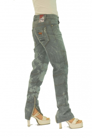 BUCK`s - LOHAS BJ82 Limited No.21 Öko Röhrenjeans 27/30 blue -Miss twy-