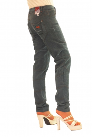 BUCK`s - LOHAS BJ73 Limited No.12 Öko Röhrenjeans 29/31 petroll -Miss twy-