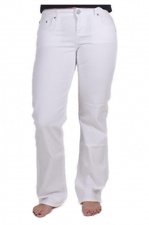 LTB VALERIE 5145-100 weiss Stretch-Jeans Bootcut