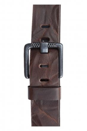 Götz Ledergürtel 50388 5cm breit Vollrindleder braun | 80