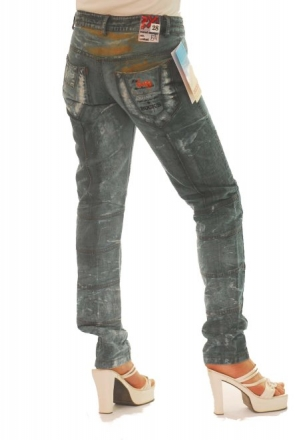 BUCK`s - LOHAS BJ117 Limited No.54 Öko Röhrenjeans 28/30 blue -Miss twy-