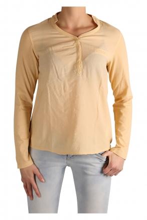 LTB Damen Shirt langarm 81085-708 Light Camel 36/S