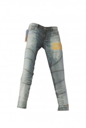 BUCK`s - LOHAS BJ138 Limited No.68 Öko Röhrenjeans 30/31 blue -Miss twy-