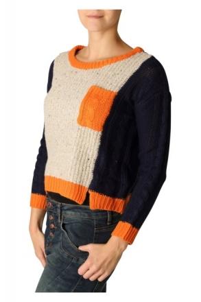 BlendShe 201255-24012 Damen Pullover Peacoat