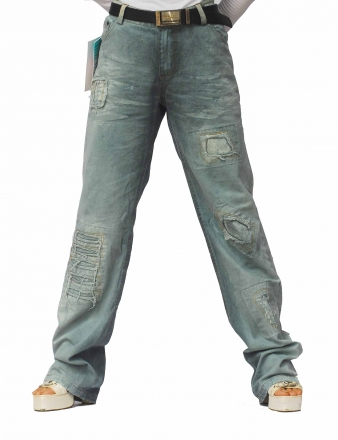 BUCK`s - LOHAS BJ218 Limited Öko Jeans abwasserfrei