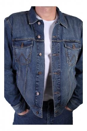 WRANGLER Jeans-Jacke W4481514V mid-stone