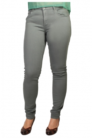 BLEND - She MOON 200416-23001 Stretch Slim-Jeans trooper