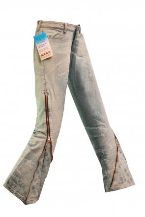 BUCK`s - LOHAS BJ133 Limited No.96 Öko Röhren/Schlag Jeans 30/31 blue -Miss twy-