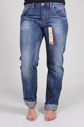 FUGA Owner D1016 Damen Boyfriend-Jeans blue-used