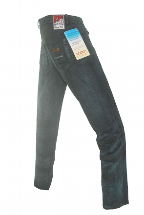 BUCK`s - LOHAS BJ153 Limited No.100 Öko Röhrenjeans 33/32 dark -Miss twy-