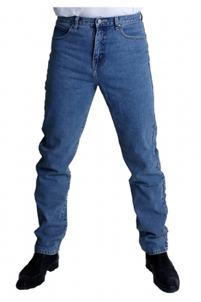 BUCK`s - BJ26 stonewashed Röhrenjeans London-Slim