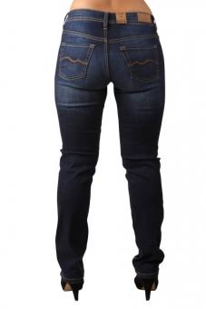f4f5a07b3afcaf OKLAHOMA MARINA A604-DB Damen Stretch Jeans Dark Blue. morepic-1; morepic-2  ...
