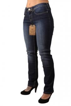2666f3784e2c79 OKLAHOMA MARINA A604-DB Damen Stretch Jeans Dark Blue. morepic-1;  morepic-2; morepic-3 ...
