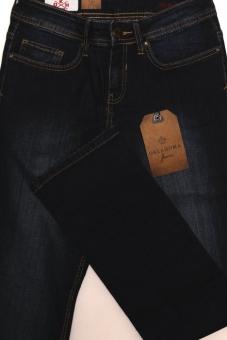 3356eaad25f887 OKLAHOMA MARINA A604-DB Damen Stretch Jeans Dark Blue. morepic-1;  morepic-2; morepic-3; morepic-4; morepic-5 ...