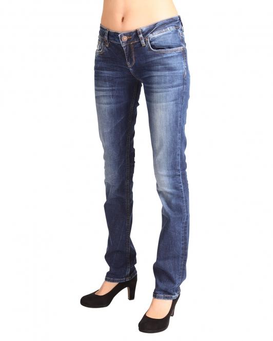 LTB Damen Jeans Valerie Heal Bootcut Blau 5145-50356
