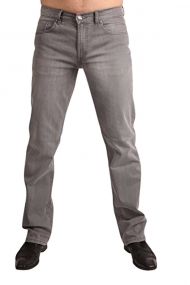 622d4e897b1139 OKLAHOMA R140 GRN Stretch-Jeans MATRIX Grey Wash