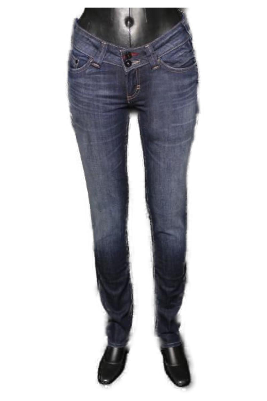 BLEND She LIGHT  6531-705 Stretch Röhren-Jeans dark-used