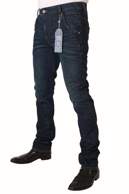 garcia lucco herren jeans v41311 1141 blue coated used. Black Bedroom Furniture Sets. Home Design Ideas